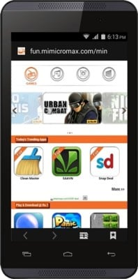 Micromax Canvas Fire 4 (Cosmic Grey, 8 GB)(1 GB RAM) Cosmic Grey
