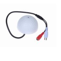 Tech Gear Sound Monitor CCTV Security Camera Audio Pickup Device Advanced Point & Shoot Camera(White) White