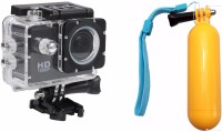 ZVR ULTRASHOT Go Pro 1080P Waterproof Sports and Action Camera(Black, 10.4) BLACK