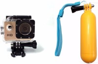 ZVR Powershot Go Pro 1080P Full HD Sports and Action Camera(Gold, 12 MP) GOLD
