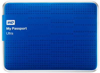 WD My Passport Ultra 2.5 inch 1 TB External Hard Drive(Red) Red