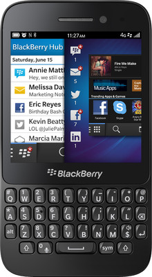 Blackberry Q5 (White, 8 GB)(2 GB RAM) White