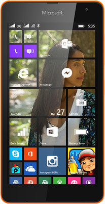 Microsoft Lumia 535 DS (Black, 8 GB)(1 GB RAM) Black