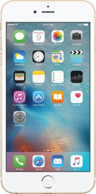 Apple iPhone 6s Plus (Gold, 128 GB) Gold