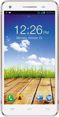Micromax Canvas 4 Plus A315 (White and Gold, 16 GB)(1 GB RAM) White and Gold