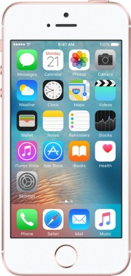 Apple iPhone SE (Rose Gold, 16 GB) Rose Gold