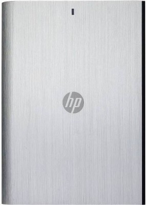 HP 1 TB Wired External Hard Disk Drive(Grey) Grey