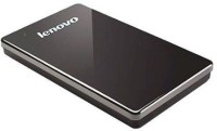 Lenovo HardDisk F309 1 TB Wired External Hard Disk Drive(Black) Black